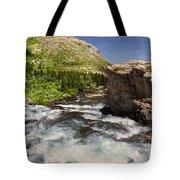 Swiftcurrent River At Many Glacier Tote Bag