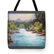 Swiftwater Tote Bag