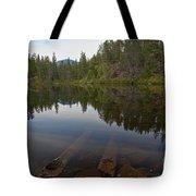 Swim Lake Tote Bag