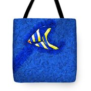 Swimming In A Sea Of Sky Tote Bag