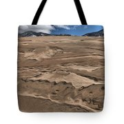 Swimming In The Dunes Tote Bag