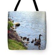 Swimming Lessons Tote Bag