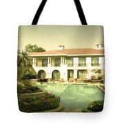 Swimming Pool In Luxury Hotel Tote Bag