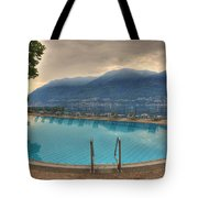 Swimming Pool Tote Bag