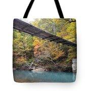 Swinging Bridge Tote Bag