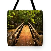 Swinging Bridge Tote Bag