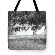 Swinging Laundry Tote Bag