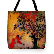 Swinging On A Tree Tote Bag