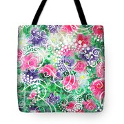 Swirl Dots By Jan Marvin Tote Bag