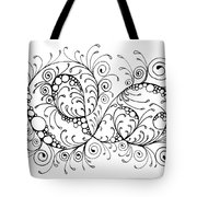 Swirl Haven - Horizontal  Tote Bag