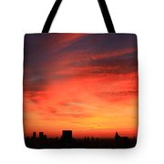 Swirling Clouds Tote Bag
