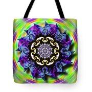 Swirling Crown Tote Bag