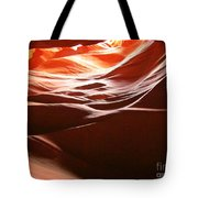Swirling Layers Of Sandstone Tote Bag