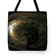 Swirling Moon Tote Bag