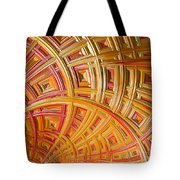 Swirling Rectangles Tote Bag