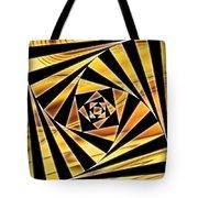 Swirling Spirals Tote Bag