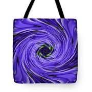 Swirls Of Blue Tote Bag