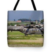 Swiss Air Force Eurocopter Cougar Tote Bag