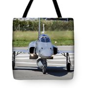 Swiss Air Force F-5e Tiger Recovering Tote Bag