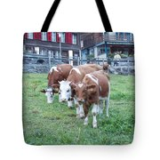 Swiss Cows Tote Bag