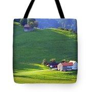 Swiss Farm House Tote Bag