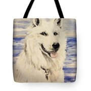 Swiss Shepherd Tote Bag
