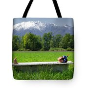 Swiss Spa Tote Bag