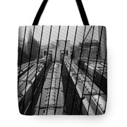 Switch Yard For Box Cars Tote Bag