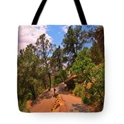 Switchback Path Tote Bag