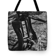 Switching Tracks Tote Bag