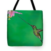 Sword-billed Hummer Tote Bag
