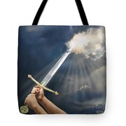 Sword Of The Spirit Tote Bag by Tamer and Cindy Elsharouni