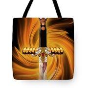 Sword Of The Spirit Tote Bag