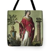 Sybil Of Eritrea With Her Insignia, 1796 Tote Bag