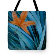 Sycamore Leaf And Sotol Plant Tote Bag