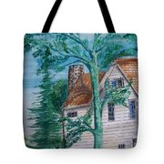 Sycamore Tree Lllustration Tote Bag