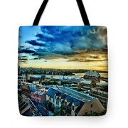 Sydney Harbor Sunrise Tote Bag