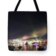 Sydney Navy Fleet Fireworks Tote Bag