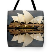 Sydney Opera House With Clouds Tote Bag