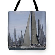 Sydney To Hobart Yacht Race Tote Bag