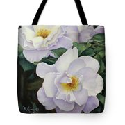 Sydneys Rose Oil Painting Tote Bag