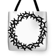 Symbol Crown Of Thorns Tote Bag