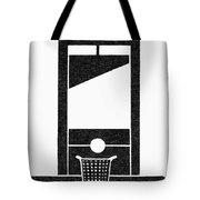 Symbol Guillotine Tote Bag