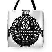 Symbol Incense Burner Tote Bag