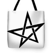 Symbol Pentacle Tote Bag