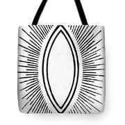 Symbol Vesica Piscis Tote Bag