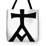 Symbols Chrisma Tote Bag