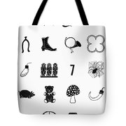 Symbols Good Luck Tote Bag