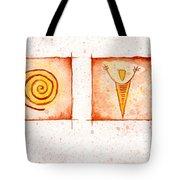 Symbols In Stone Tote Bag