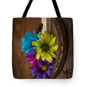 Symbols Of A Cowgirl's Love Tote Bag